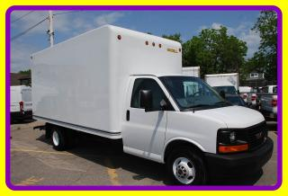 Used 2017 GMC Savana 3500 G3500 16' Cube, Ramp, A/C for sale in Woodbridge, ON