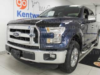 Used 2015 Ford F-150 XLT 4x4 with keypad entry and a jean blue for sale in Edmonton, AB