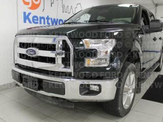 Used 2015 Ford F-150 XLT 4x4 in hunter green. It's the emerald you've always wanted for sale in Edmonton, AB