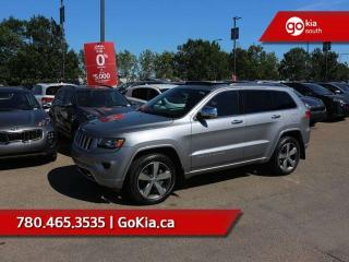 Used 2015 Jeep Grand Cherokee Overland; FULLY LOADED, LOW KM, ADAPTIVE CRUISE, PANO ROOF, NAV, AWD, LEATHER, COOLED SEATS, CAR STARTER for sale in Edmonton, AB