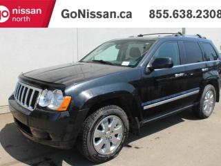 Used 2010 Jeep Grand Cherokee LIMITED, SUEDE & LEATHER COMBO INTERIOR, NAVIGATION, FRONT & REAR HEATED SEATS, GREAT SHAPE! for sale in Edmonton, AB