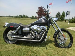 Used 2010 Harley-Davidson Dyna FXDWG DYNA WIDE GLIDE for sale in Blenheim, ON