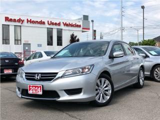 Used 2014 Honda Accord Sedan LX - Rear Camera - Bluetooth for sale in Mississauga, ON