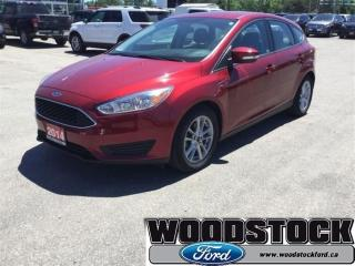 Used 2015 Ford Focus SE Hatch Certified PRE Owned for sale in Woodstock, ON