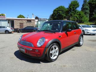 Used 2003 MINI Cooper AUTO LOW KM for sale in King City, ON