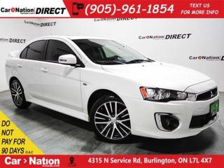 Used 2017 Mitsubishi Lancer ES| AWD| SUNROOF| LEATHER| BACK UP CAMERA| for sale in Burlington, ON