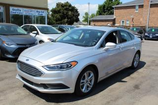 Used 2018 Ford Fusion SE Hybrid for sale in Brampton, ON