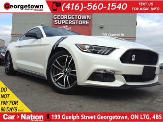 Used 2017 Ford Mustang EcoBoost | NAVI | LEATHER | EXHAUST | BACK UP CAM for sale in Georgetown, ON