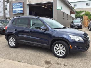 Used 2011 Volkswagen Tiguan COMFORTLINE for sale in Kitchener, ON