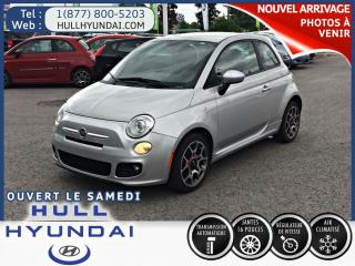 Used 2012 Fiat 500 Sport for sale in Gatineau, QC