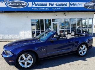 Used 2012 Ford Mustang GT for sale in Langley, BC