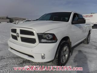 Used 2014 RAM 1500 SPORT CREW CAB 4WD 5.7L for sale in Calgary, AB