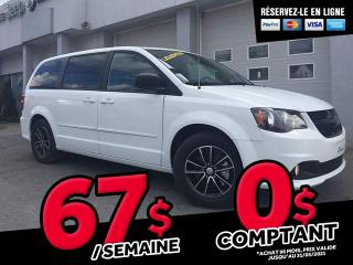 Used 2017 Dodge Grand Caravan SXT BLACKTOP for sale in Ste-Marie, QC