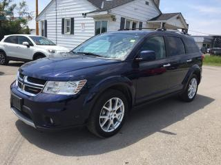 Used 2017 Dodge JOURNEY GT * AWD * LEATHER * BLUETOOTH * LOW KM * 7 PASSENGER for sale in London, ON