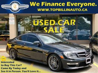 Used 2013 Mercedes-Benz C-Class 63 AMG, ACCIDENT FREE for sale in Concord, ON