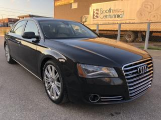 Used 2013 Audi A8 Premium Package I SUNROOF I LEATHER for sale in North York, ON