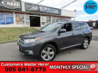 Used 2013 Toyota Highlander Sport  4WD LEATH ROOF 7-PASS HS HOME-REMOTE DUAL-CLIMATE 19