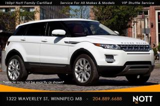 Used 2015 Land Rover Evoque Pure Plus Nav Sky View Backup for sale in Winnipeg, MB