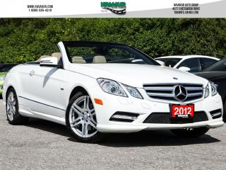 Used 2012 Mercedes-Benz E-Class E350 Cabriolet Loaded for sale in North York, ON