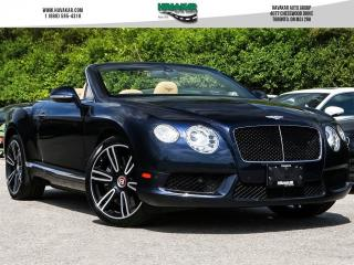 Used 2013 Bentley Continental GTC Cabrio for sale in North York, ON