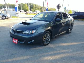 Used 2009 Subaru Impreza WRX for sale in Barrie, ON