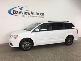 Used 2017 Dodge Grand Caravan - ALLOYS! STOW 'N GO! DVD! NAV! PWR SLIDERS! for sale in Belleville, ON
