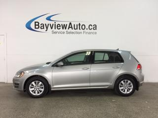Used 2015 Volkswagen Golf 1.8 TSI Trendline - TURBO! ALLOYS! HTD SEATS! A/C! BLUETOOTH! for sale in Belleville, ON