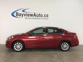 Used 2017 Nissan Sentra 1.8 SV - ALLOYS! SUNROOF! HTD SEATS! REVERSE CAM! BLUETOOTH! for sale in Belleville, ON
