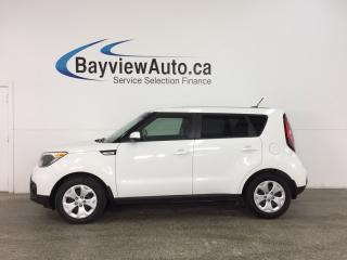 Used 2017 Kia Soul LX - AUTO! A/C! BLUETOOTH! PWR GROUP! CRUISE! for sale in Belleville, ON