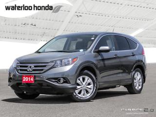Used 2014 Honda CR-V EX-L Bluetooth, Back Up Camera, AWD, Heated Seats and more! for sale in Waterloo, ON