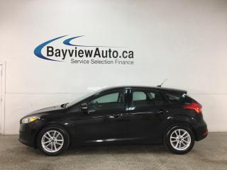 Used 2015 Ford Focus - AUTO! SYNC! REVERSE CAM! ALLOYS! + MORE! for sale in Belleville, ON
