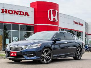 Used 2016 Honda Accord Touring for sale in Milton, ON