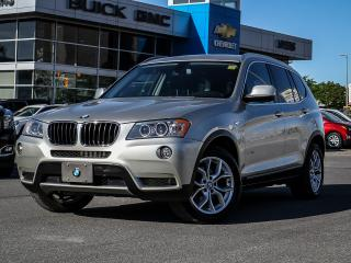 Used 2013 BMW X3 I28 XDRIVE, SUNROOF, LEATHER, HEATED SEATS for sale in Ottawa, ON