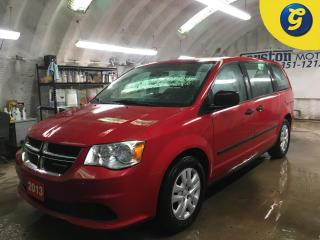 Used 2013 Dodge Grand Caravan SE*KEYLESS ENTRY*POWER FRONT WINDOWS/LOCKS/HEATED MIRRORS*DUAL ZONE CLIMATE CONTROL*TRACTION CONTROL*CRUISE CONTROL*ECON MODE*AM/FM/CD/AUX* for sale in Cambridge, ON