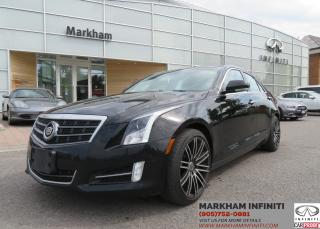 Used 2013 Cadillac ATS 3.6L Luxury ASIS Super Saver , No Accidents for sale in Unionville, ON