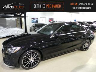 Used 2015 Mercedes-Benz C-Class C400| 4MATIC| SPORT & PREMIUM PKG for sale in Vaughan, ON