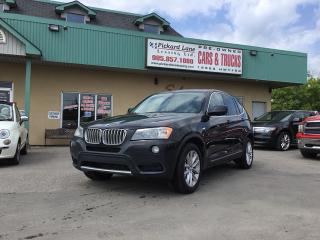Used 2012 BMW X3 xDrive35i for sale in Bolton, ON