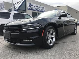 Used 2015 Dodge Charger SXT ACCIDENT FREE|PUSH START|ALLOYS|CERTIFIED for sale in Concord, ON