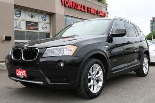 Used 2013 BMW X3 xDrive28i Excutive Pkg. Panoramic Roof. Leather. Warranty for sale in North York, ON