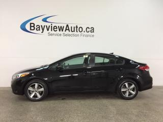 Used 2018 Kia Forte LX - HTD SEATS! A/C! REV CAM! BLUETOOTH! CRUISE! for sale in Belleville, ON