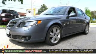 Used 2008 Saab 9-5 Aero|NO ACCIDENT|LEATHER|ALLOY|HEATED|CERTIFIED for sale in Oakville, ON