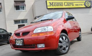 Used 2007 Pontiac Wave Base! Winter tires+ Clean Carproof+Low Kilometers! for sale in St Catharines, ON