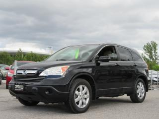 Used 2009 Honda CR-V EX-L AWD / LOCAL SUV / ACCIDENT FREE/ NAV for sale in Newmarket, ON