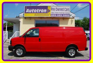 Used 2015 GMC Savana 2500 3/4 Ton Cargo Van, A/C, LOW KM, Loaded for sale in Woodbridge, ON