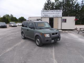 Used 2004 Honda Element for sale in Elmvale, ON