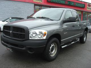Used 2008 Dodge Ram ST QUAD CAB for sale in London, ON