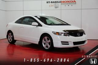 Used 2010 Honda Civic LX COUPE + TOIT + MAGS + SUPER PROPRE for sale in St-Basile-le-Grand, QC