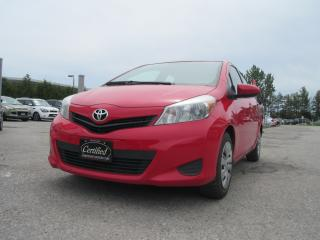 Used 2012 Toyota Yaris LE / ONE OWNER / ACCIDENT FREE for sale in Newmarket, ON