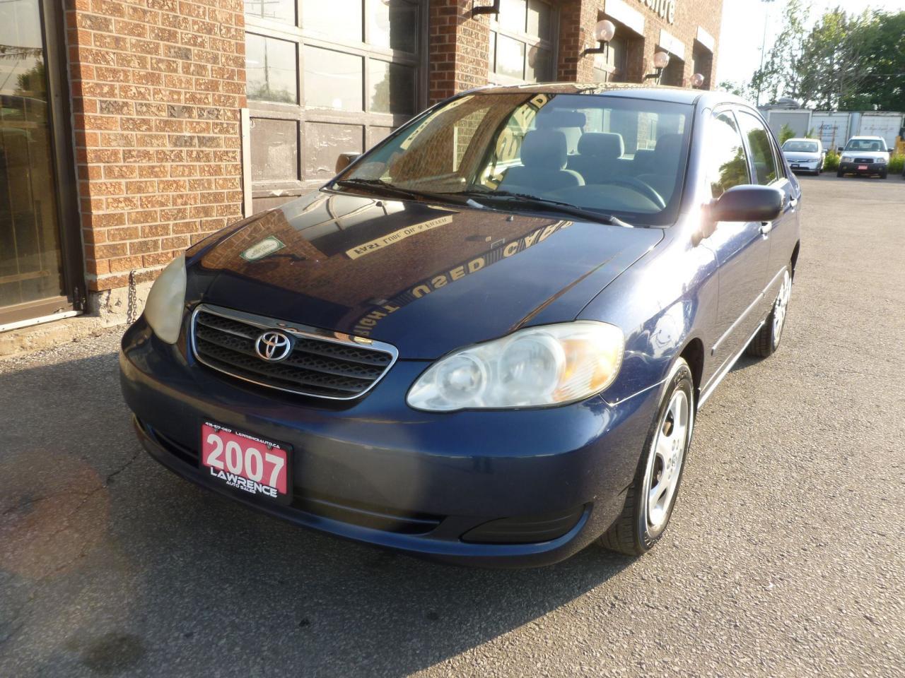Photo of Blue 2007 Toyota Corolla