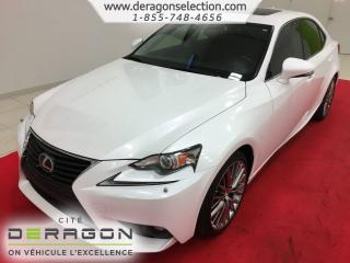 Used 2015 Lexus IS 250 Awd + Cuir + Toit for sale in Cowansville, QC
